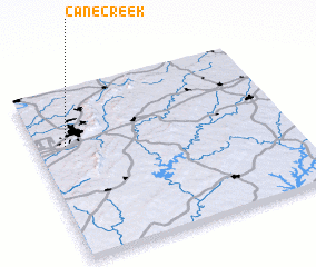 3d view of Cane Creek