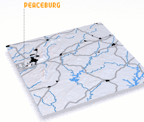 3d view of Peaceburg