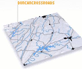 3d view of Duncan Crossroads