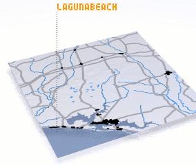 Laguna Beach United States USA map nonanet
