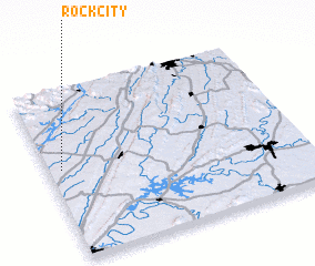 3d view of Rock City