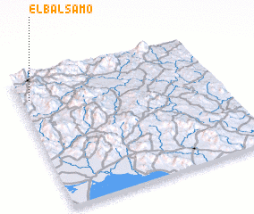 3d view of El Bálsamo
