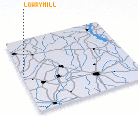 3d view of Lowry Mill