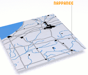 3d view of Nappanee