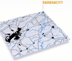 3d view of Rainbow City