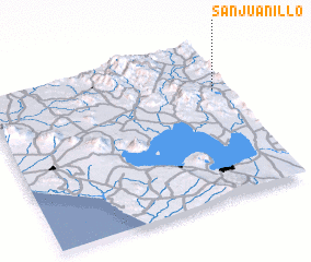 3d view of San Juanillo