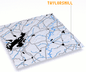 3d view of Taylors Mill