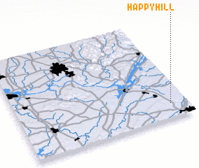 3d view of Happy Hill