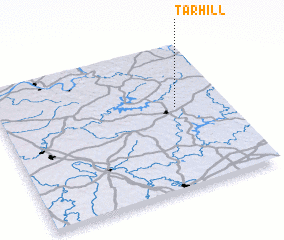 3d view of Tar Hill