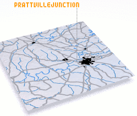 3d view of Prattville Junction