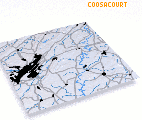 3d view of Coosa Court