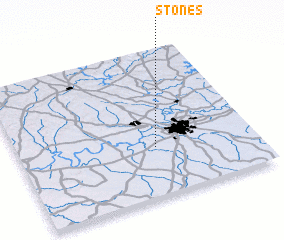 3d view of Stones