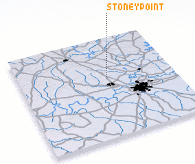 3d view of Stoney Point
