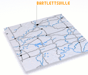 3d view of Bartlettsville