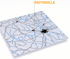 3d view of Dosterville