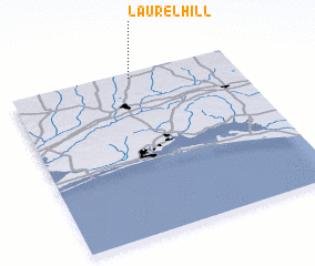 3d view of Laurel Hill