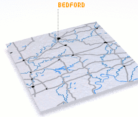 3d view of Bedford