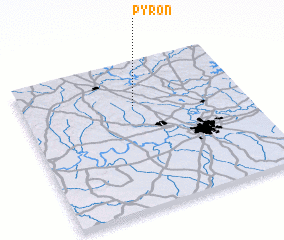 3d view of Pyron