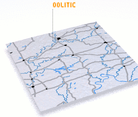 3d view of Oolitic