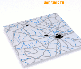 3d view of Wadsworth
