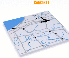 3d view of Kankakee