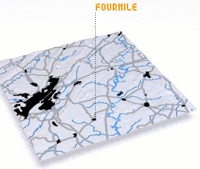 3d view of Fourmile
