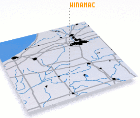 3d view of Winamac