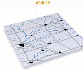 3d view of Ockley