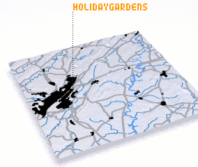 3d view of Holiday Gardens