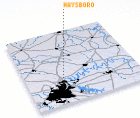 3d view of Haysboro