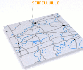 3d view of Schnellville