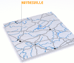 3d view of Haynesville