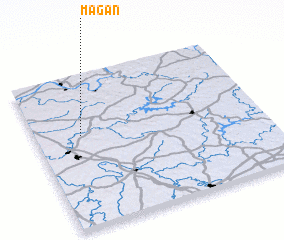 3d view of Magan