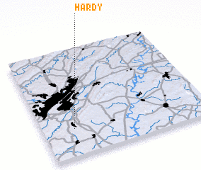 3d view of Hardy