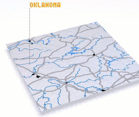 3d view of Oklahoma