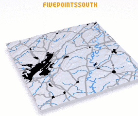 3d view of Five Points South