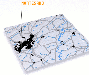 3d view of Monte-Sano