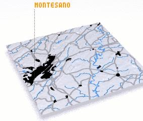 3d view of Monte-Sano