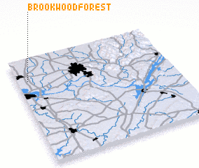 3d view of Brookwood Forest