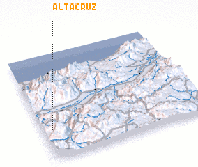 3d view of Alta Cruz
