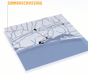 3d view of Simmons Crossing