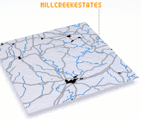 3d view of Mill Creek Estates