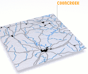 3d view of Coon Creek