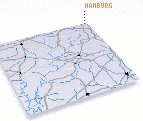 3d view of Hamburg