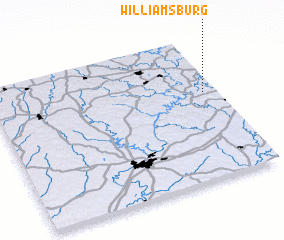 3d view of Williamsburg