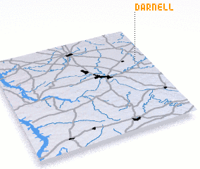3d view of Darnell