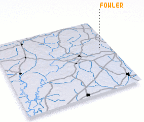 3d view of Fowler