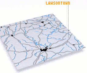 3d view of Lawsontown