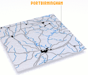 3d view of Port Birmingham
