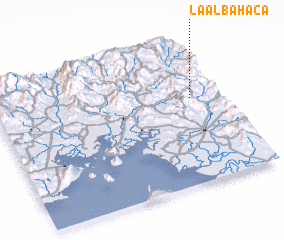 3d view of La Albahaca